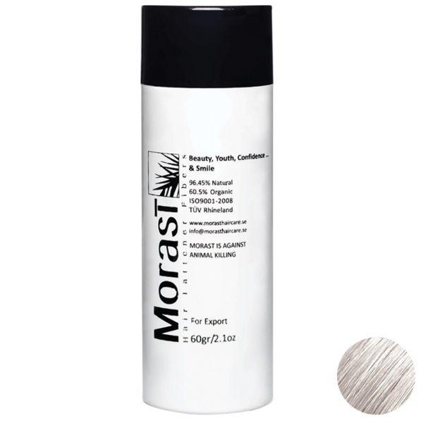 پودر پرپشت کننده موی مورست مدل White مقدار 60 گرم