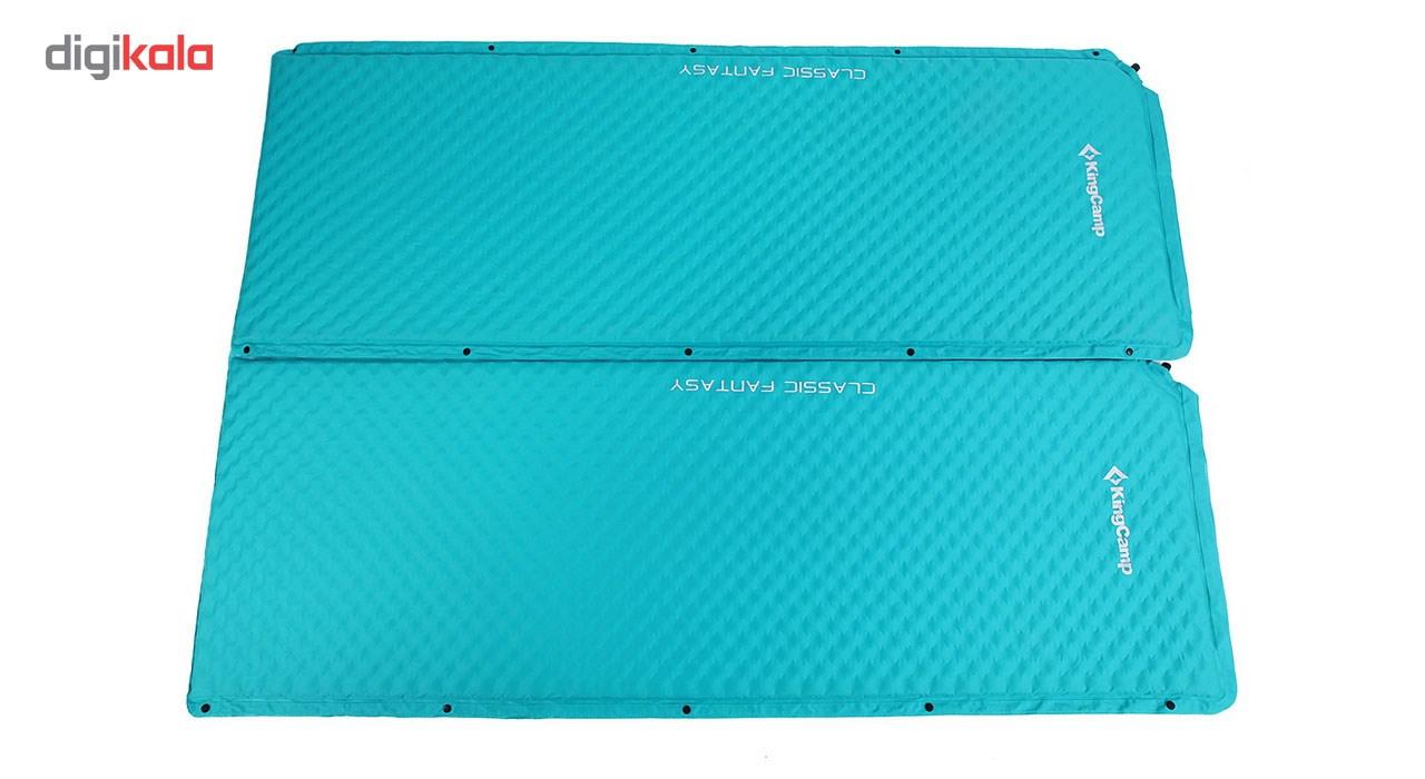 زیرانداز بادی سفری کینگ کمپ مدل CLASSIC FANTASY