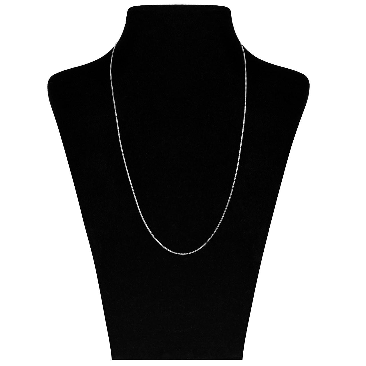 زنجیر طلا 18 عیار ماهک مدل MM0655 - مایا ماهک