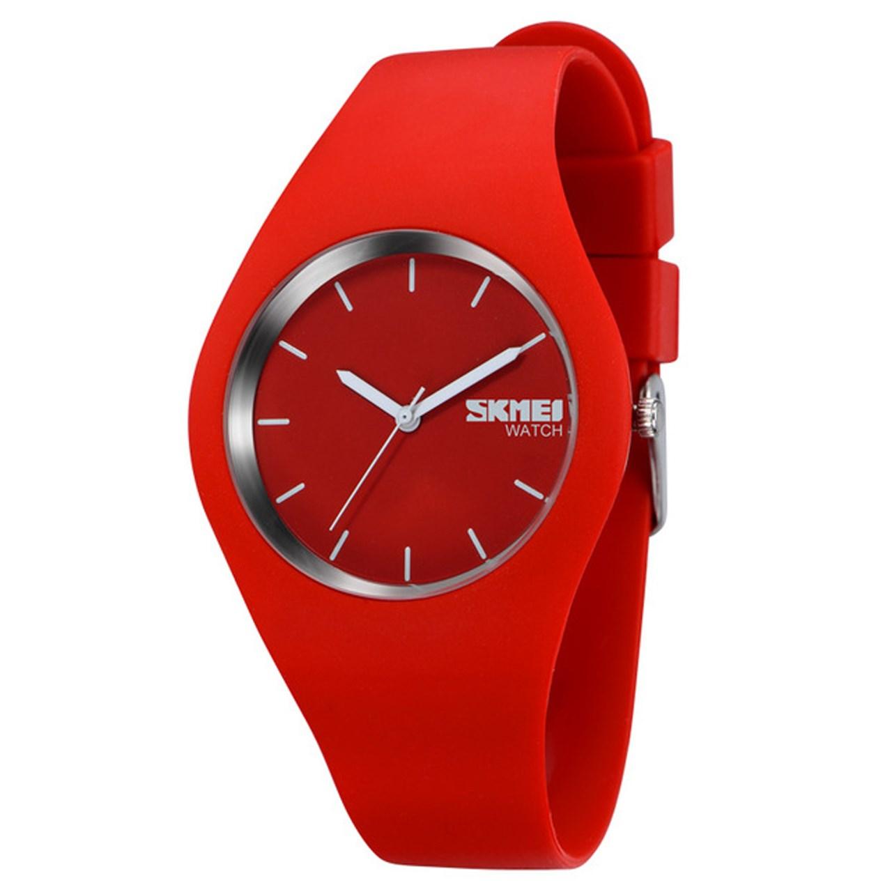 ساعت مچی عقربه ای اسکمی مدل S9068/Red