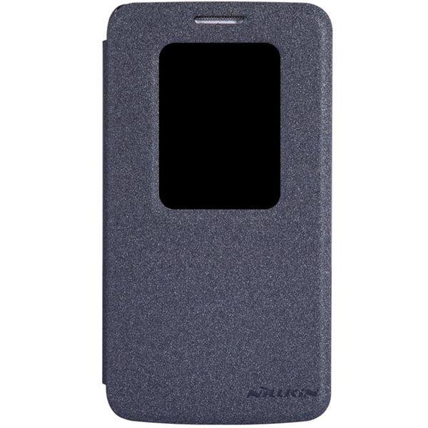 کیف کلاسوری نیلکین مدل New Leather Sparkle مناسب برای گوشی موبایل LG G2 Mini