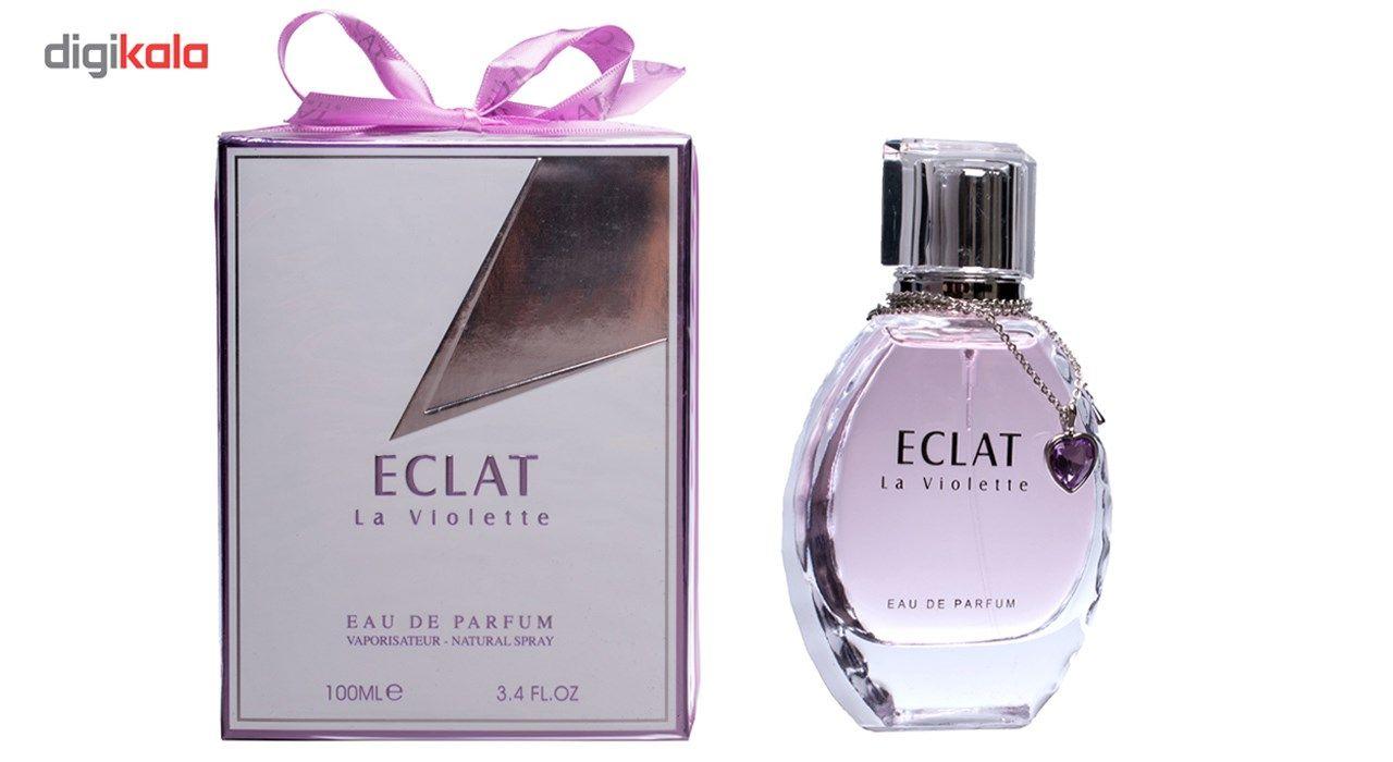 ادو پرفیوم زنانه فراگرنس ورد مدل ECLAT La Violette حجم 100 میلی لیتر main 1 2