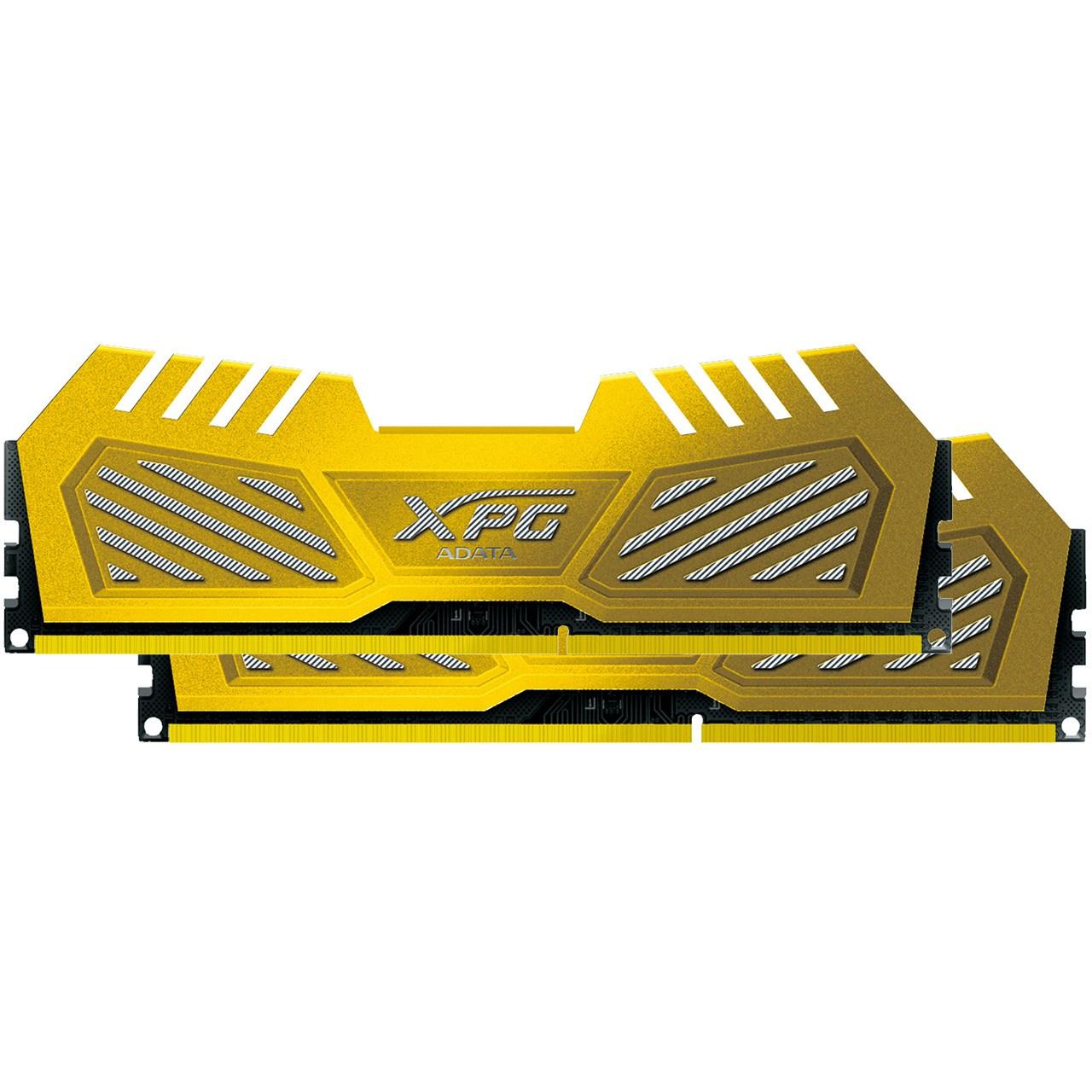 رم دسکتاپ DDR3 دو کاناله 2600 مگاهرتز CL11 ای دیتا مدل XPG V2 ظرفیت 16 گیگابایت