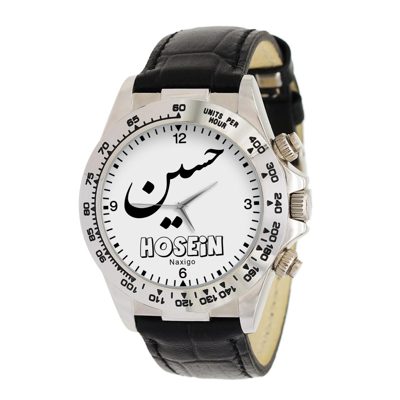 قیمت                      ساعت مچی عقربه ای مردانه ناکسیگو طرح حسین کد LS3686