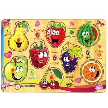 پازل چوبی 8 تکه آکو مدل Fruit