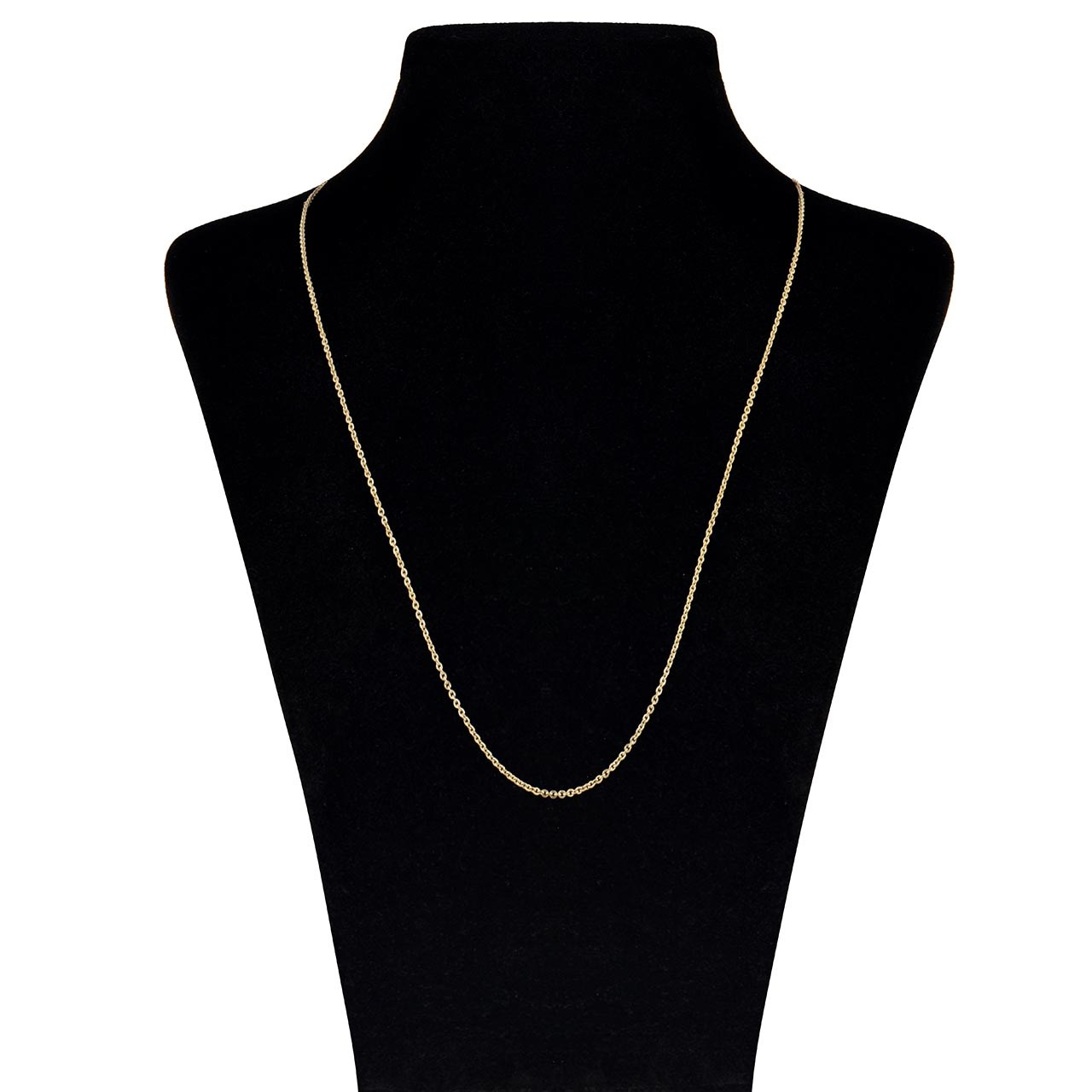 زنجیر طلا 18 عیار ماهک مدل MM0647 - مایا ماهک