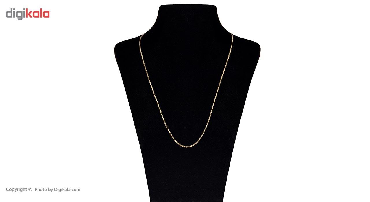 زنجیر طلا 18 عیار ماهک مدل MM0647 - مایا ماهک -  - 2