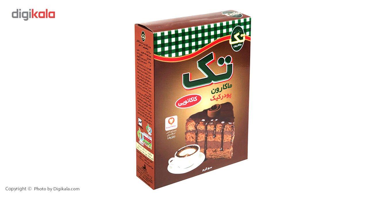 پودر کیک کاکائویی تک ماکارون مقدار 500 گرم main 1 3