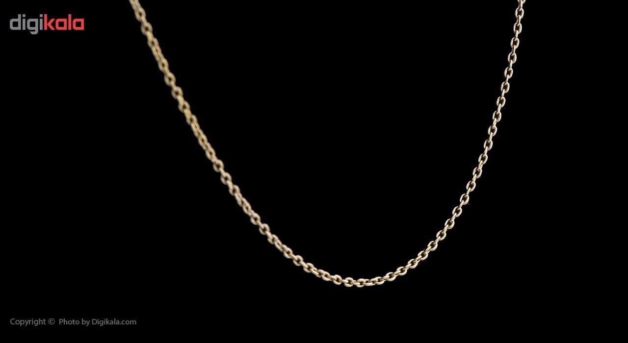 زنجیر طلا 18 عیار ماهک مدل MM0647 - مایا ماهک -  - 3