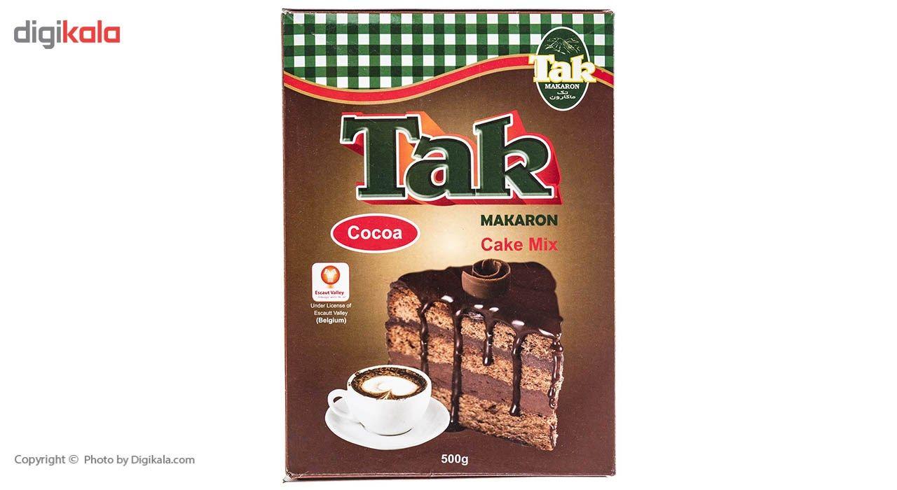 پودر کیک کاکائویی تک ماکارون مقدار 500 گرم main 1 4