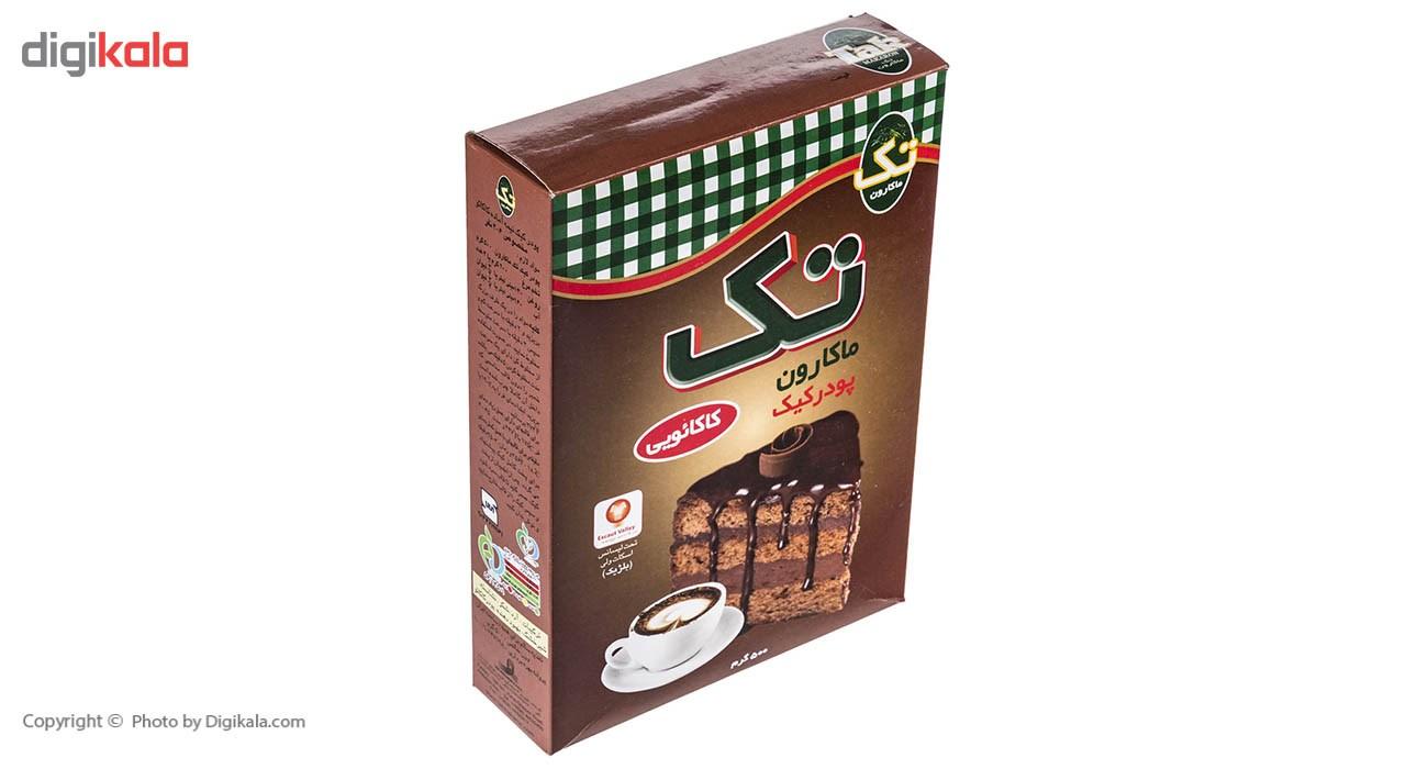 پودر کیک کاکائویی تک ماکارون مقدار 500 گرم main 1 7