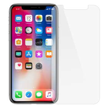 محافظ صفحه نمایش شیشه ای مدل Tempered مناسب برای گوشی موبایل اپل آیفون X