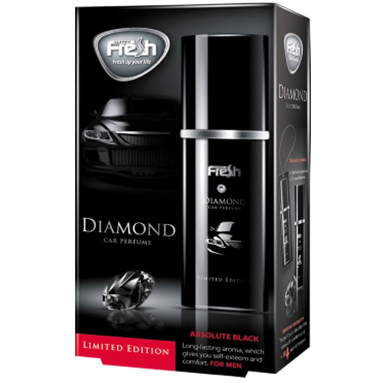 خوشبو  کننده خودرو فرش وی مدلCar Parfume Absolute Black