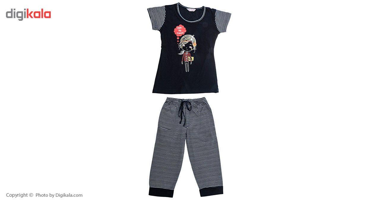 تی شرت و شلوارک دخترانه آنجلینا مدل 5467 -  - 2