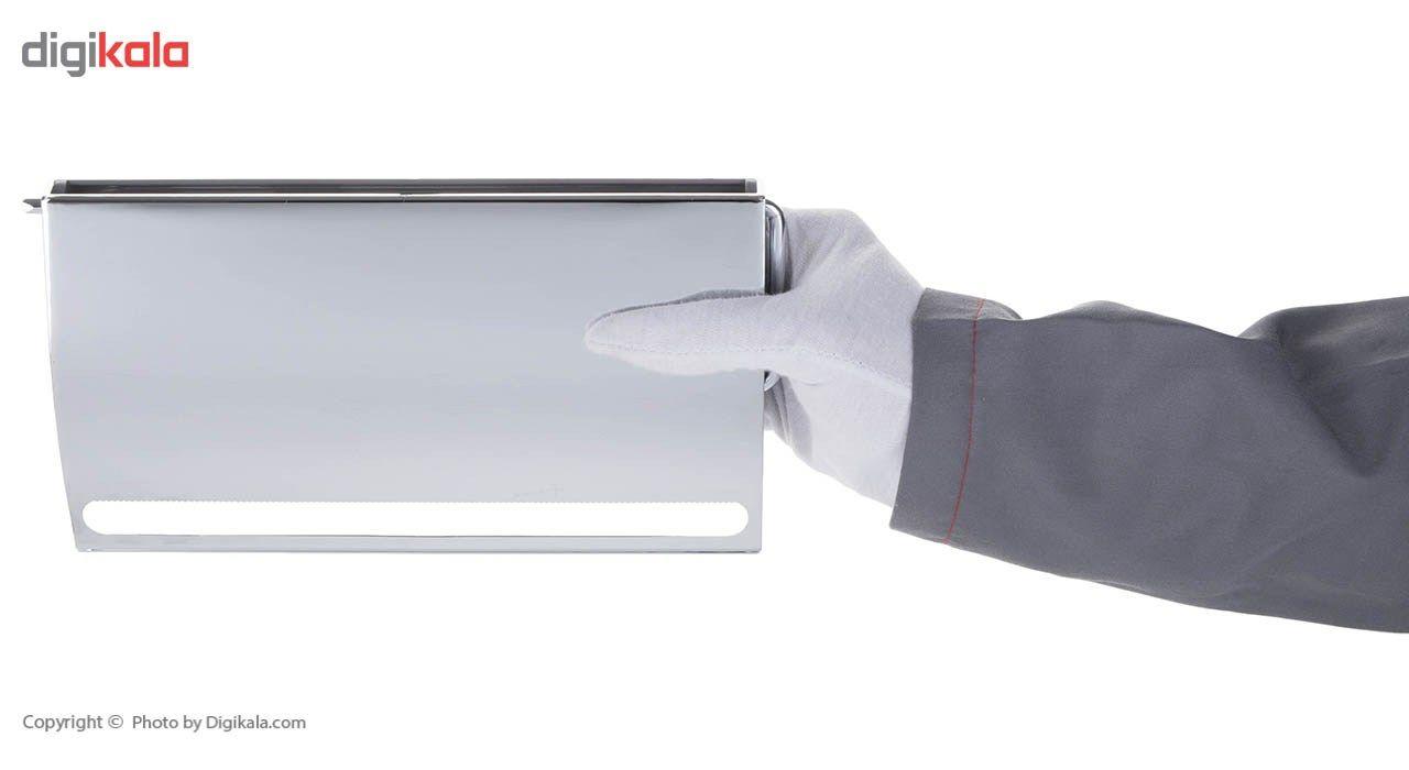 جای دستمال توالت سنی پلاستیک مدل Tooka main 1 4