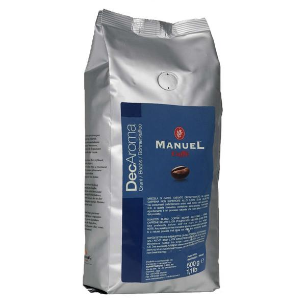 بسته دانه قهوه مانوئل مدل DECAROMA