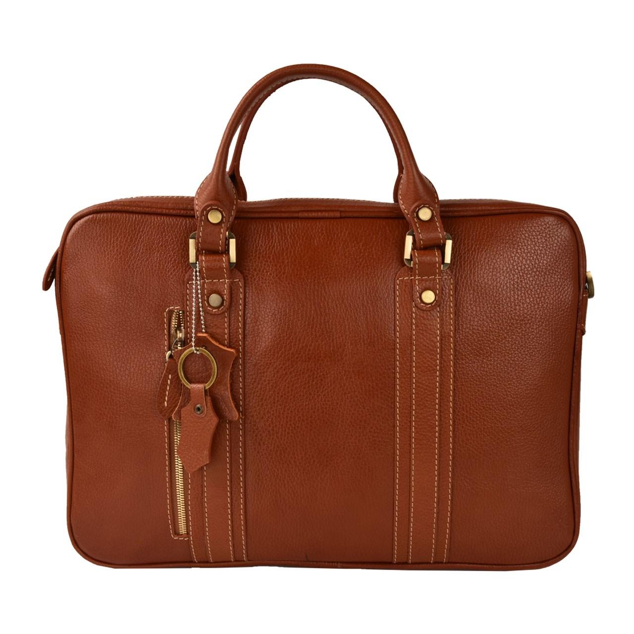 کیف اداری چرم طبیعی کهن چرم مدل L115-1