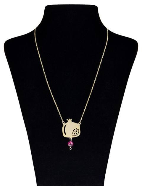 گردنبند طلا 18 عیار ماهک مدل MM0604 - مایا ماهک -  - 1