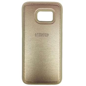 کاور ژله ای طرح چرم مدل مناسب برای گوشی موبایل سامسونگ Galaxy S7 Edge