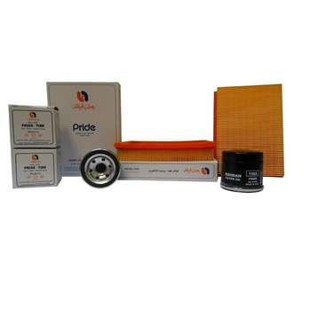 فیلتر هوا و فیلتر روغن خودرو بهران فیلتر مدل GL1332 مناسب برای پراید