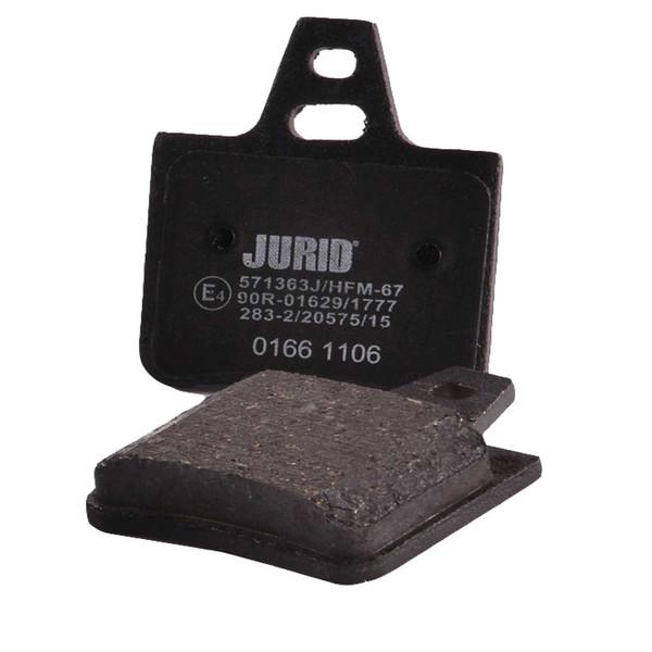 لنت ترمز عقب جورید مدل J571363 مناسب برای زانتیا