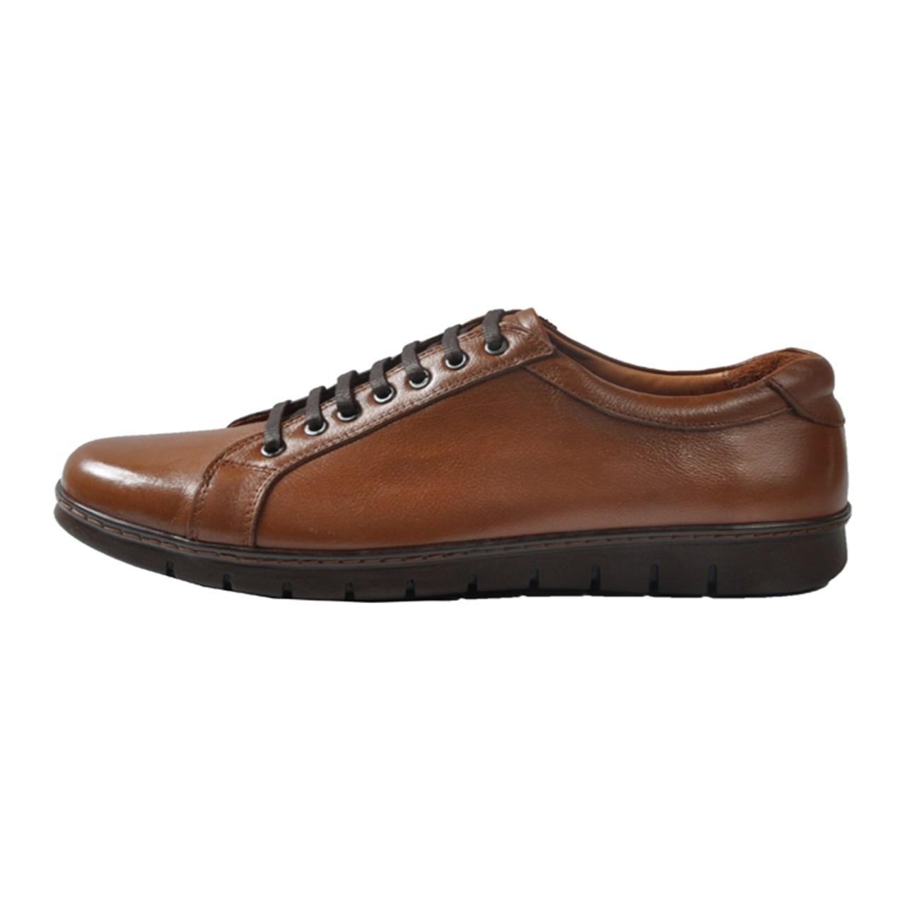 کفش چرم مردانه مهاجر مدل M26a