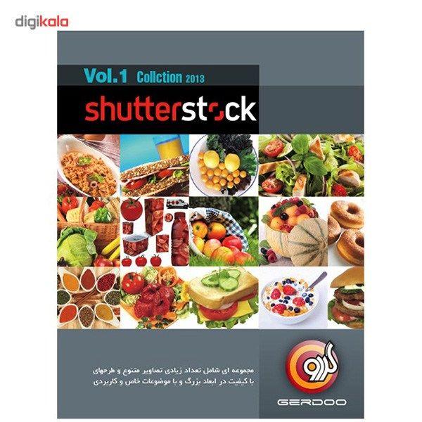 مجموعه نرمافزار گردو Shutter Stock-Vol.1 2013