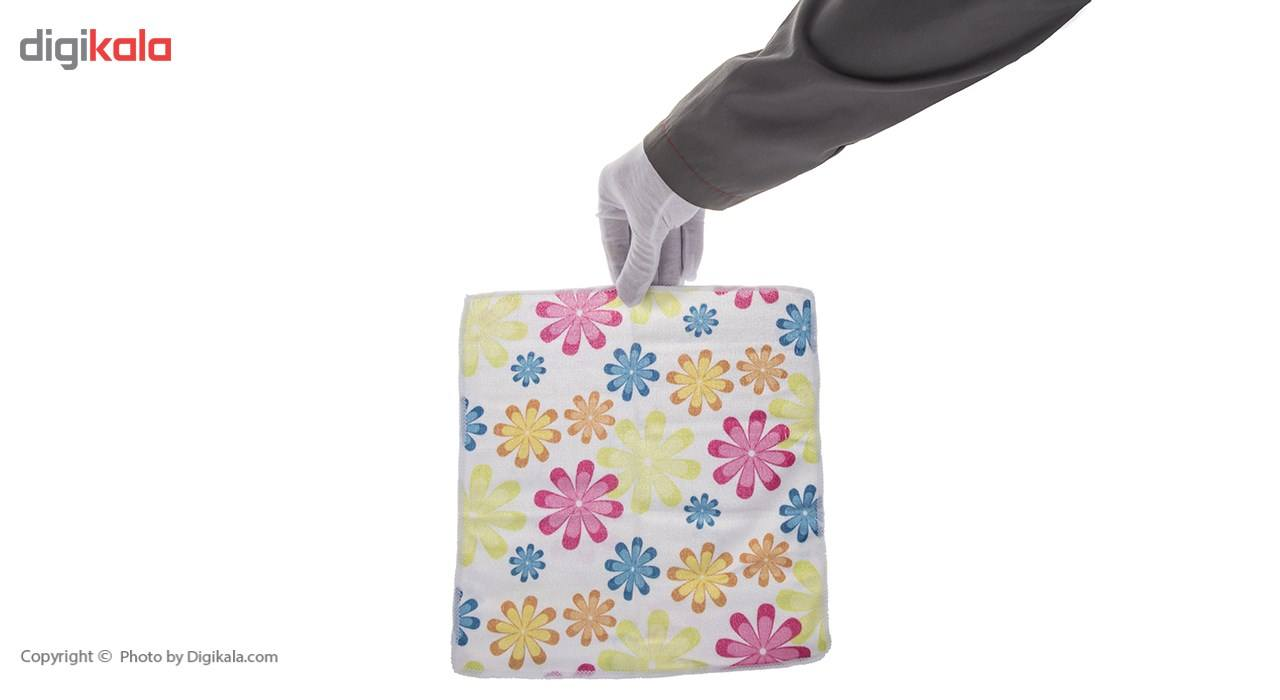 دستمال آشپزخانه نانو کد 00845 بسته 4 عددی main 1 5