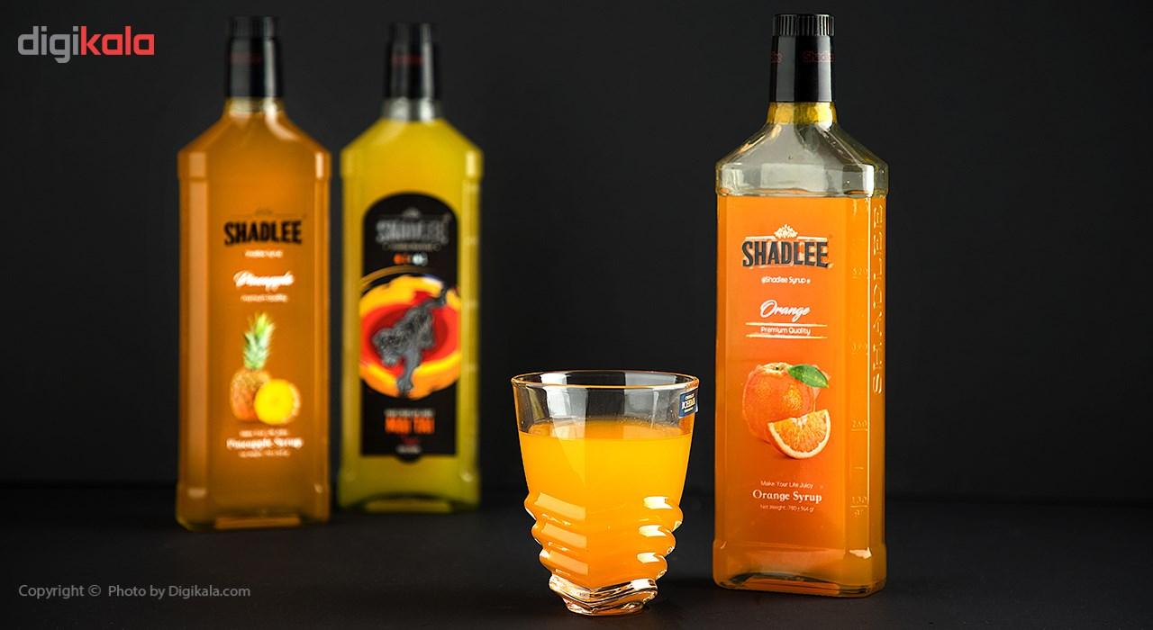 شربت پرتقال شادلی حجم 600 میلی لیتر