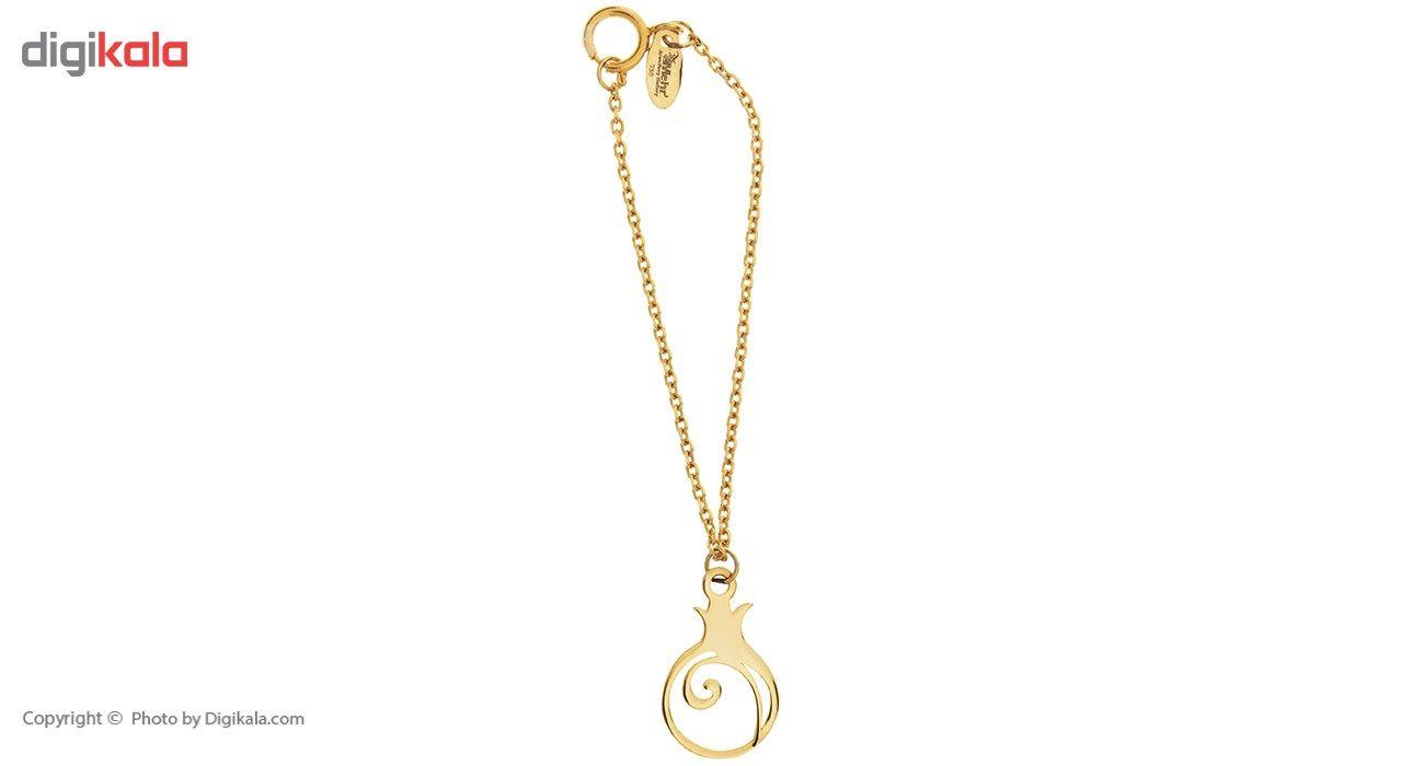 آویز ساعت طلا 18 عیار ماهک مدل MW0071 - مایا ماهک -  - 2