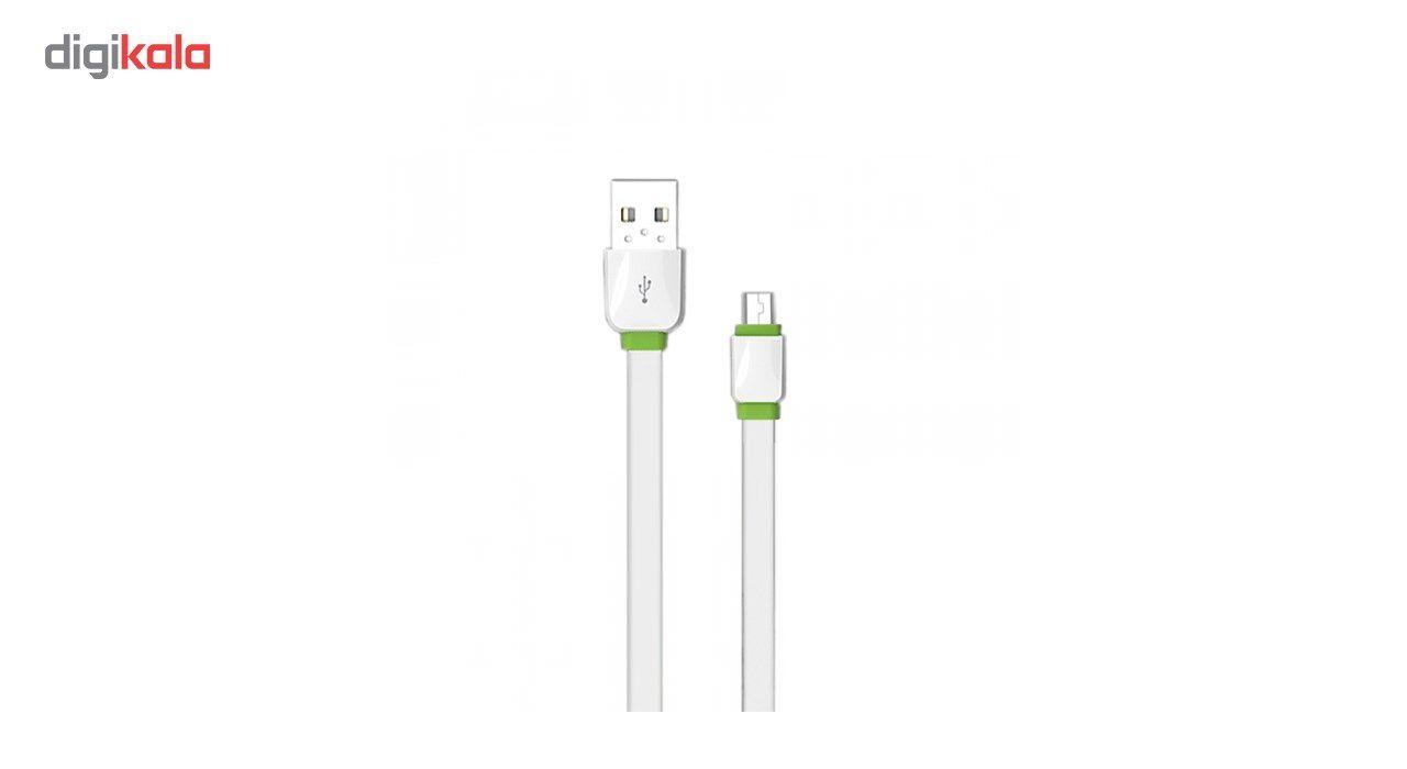 کابل تبدیل USB به microUSB امی مدل MY-444 طول 1 متر main 1 2