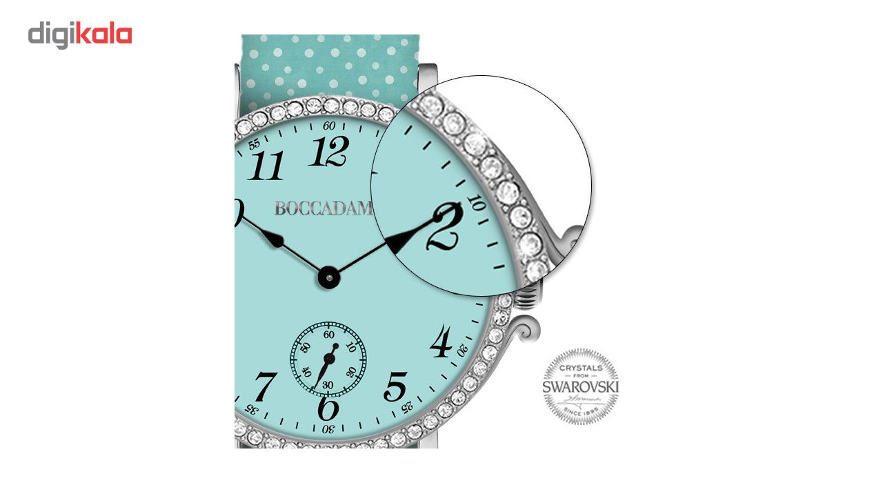 ساعت مچی عقربه ای زنانه بوکادامو مدل RGPR013