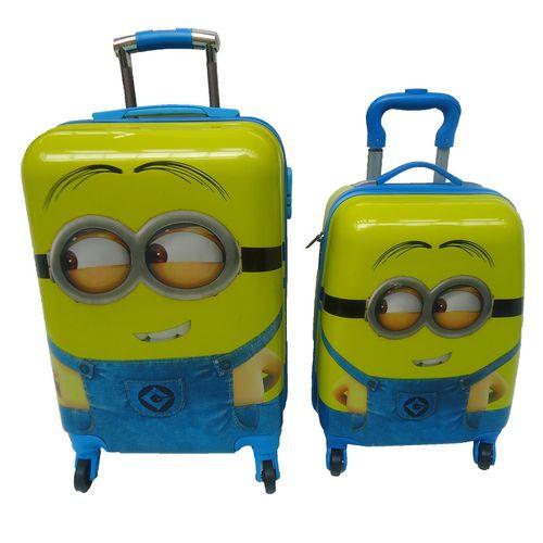 مجموعه دو عددی چمدان کودک سالار مدل 022