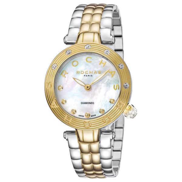 ساعت مچی عقربه ای زنانه روشاس مدل RP2L002M0091