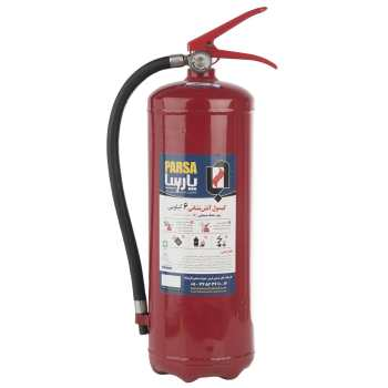 کپسول آتش نشانی پودری پارسا 6 کیلوگرمی