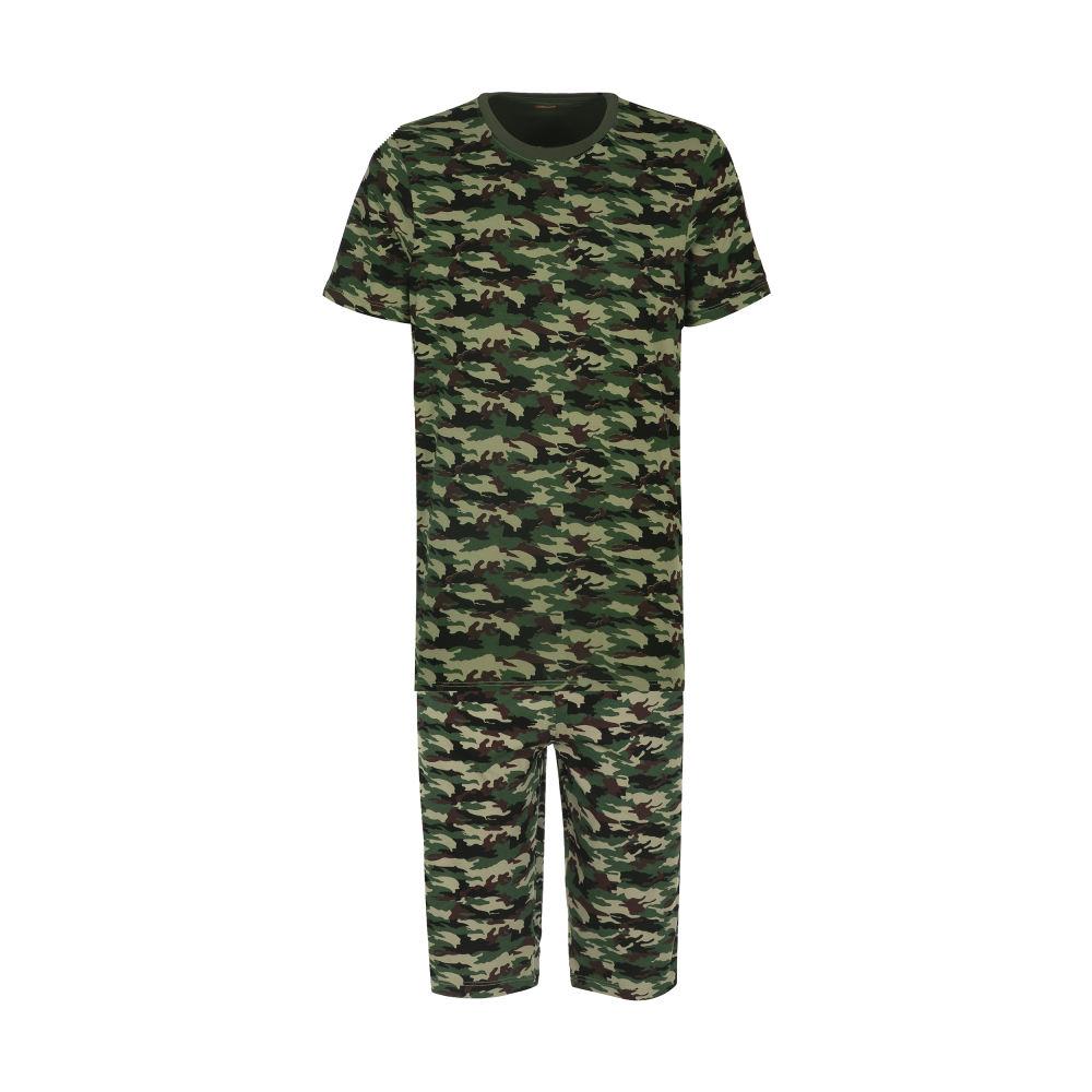 ست تی شرت و شلوارک راحتی مردانه مادر مدل 2041108-49