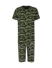 ست تی شرت و شلوارک راحتی مردانه مادر مدل 2041108-49 -  - 1