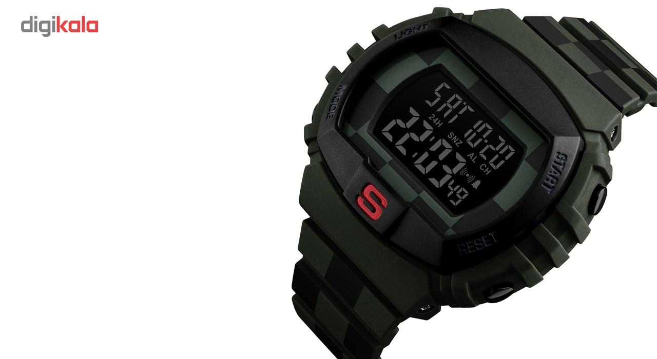 خرید ساعت مچی دیجیتالی اسکمی مدل 1304 کد 03