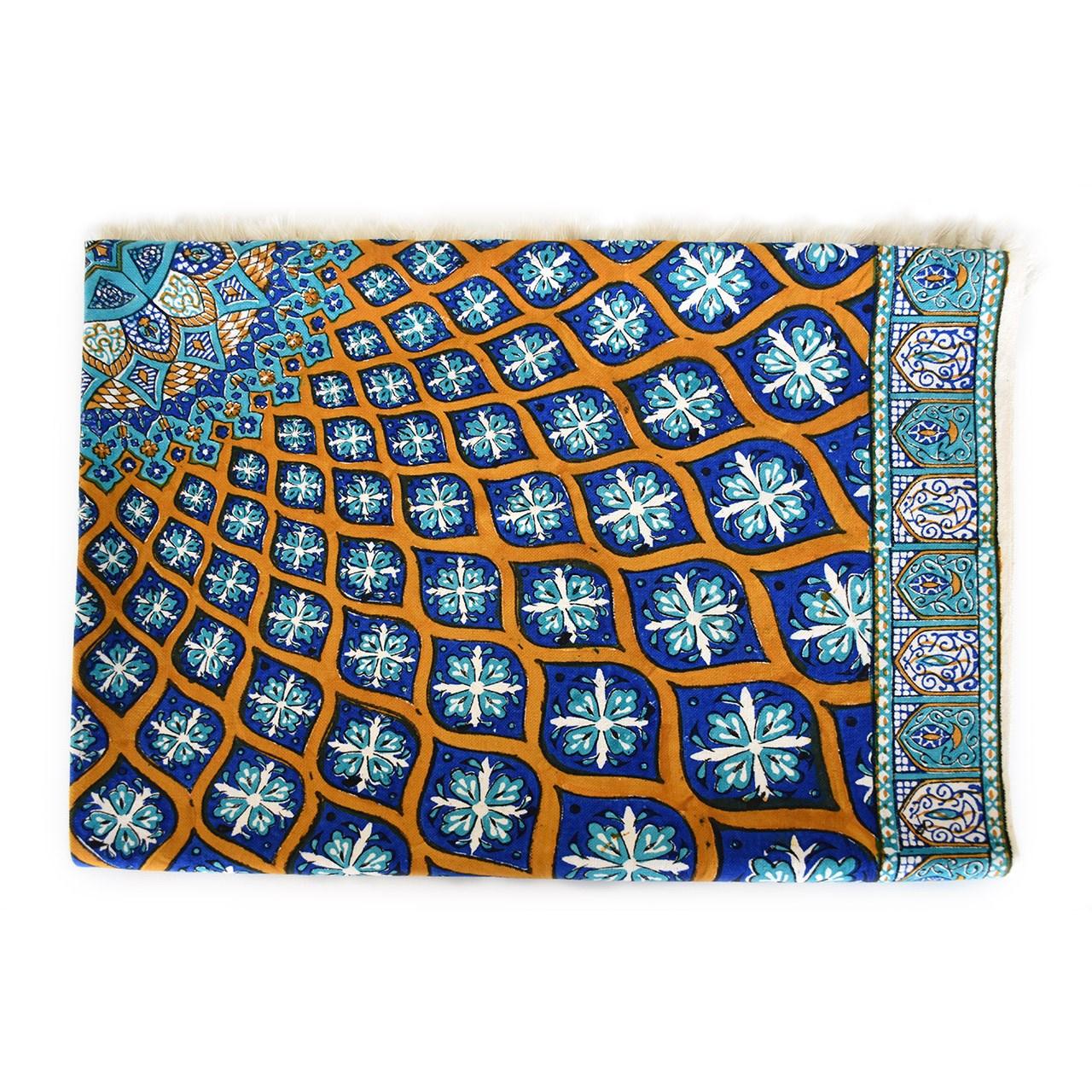 خرید                      سفره قلمکار ممتاز سی دا طرح مسجد شیخ لطف الله کد GH01001 سایز 100 × 150 سانتیمتر