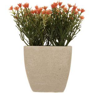 گلدان و گل مصنوعی مادام کوکو مدل 1KCICK1534