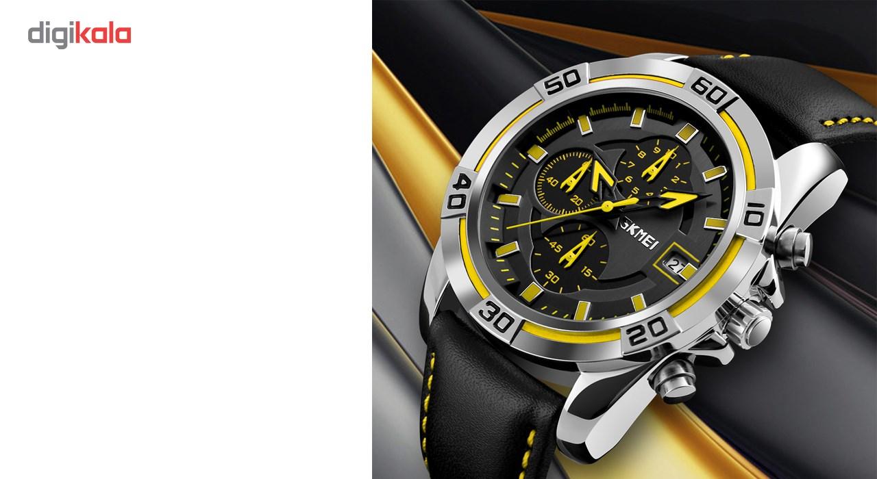 خرید ساعت مچی عقربه ای مردانه اسکمی مدل 9156 کد 03 | ساعت مچی