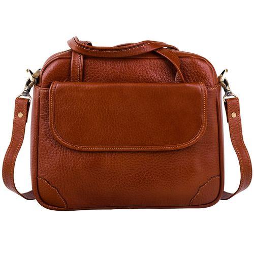 کیف اداری چرم طبیعی پایاچرم طرح عسل 450 مدل 07