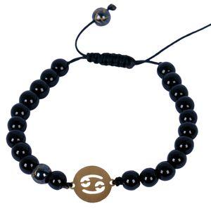 دستبند طلا 18 عیار نفیس گلد مدل NG07