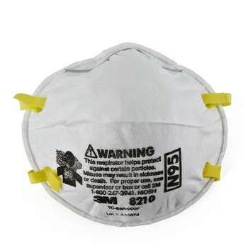 ماسک تنفسی تری ام مدل 8210 N95 بسته 20 عددی