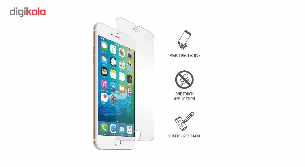 محافظ صفحه نمایش شیشه ای تمپرد مدل 9H مناسب برای گوشی موبایل اپل آیفون 7/8 main 1 1