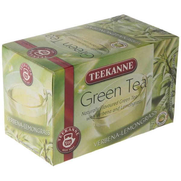 چای کیسه ای تی کانه مدل Green Tea Verbena Lemongrass بسته 20 عددی
