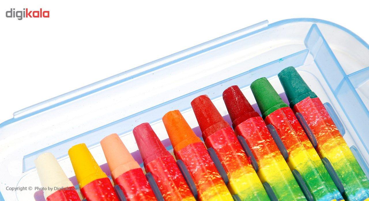 پاستل روغنی 18 رنگ آریا مدل 2030 main 1 6