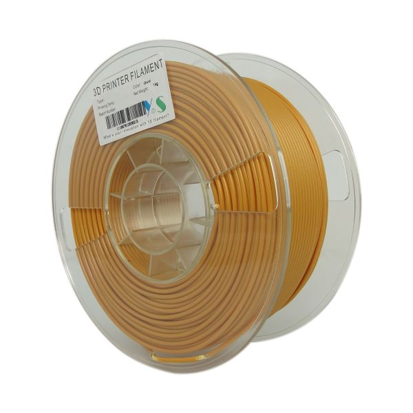 فیلامنت پرینتر سه بعدی PLA  یوسو  طلایی  3.0 میلیمتر 1 کیلو
