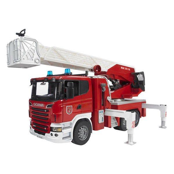 ماشین بازی برودر مدل Scania Fire Engine