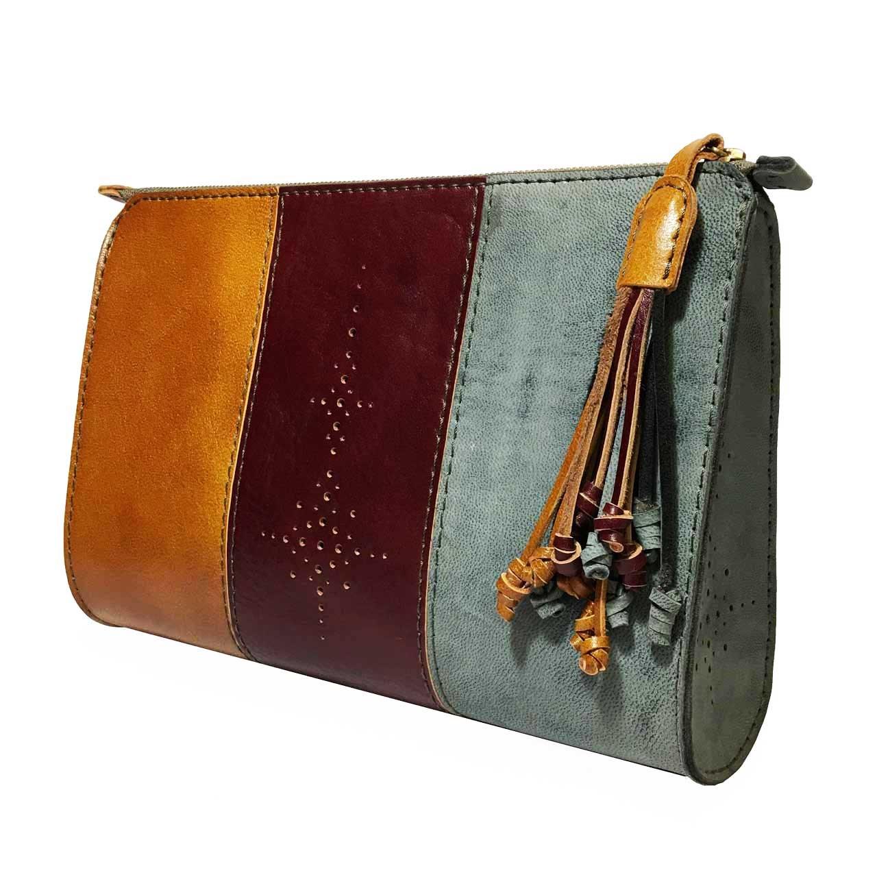 کیف دستی زنانه چرم طبیعی گلیما مدل 271